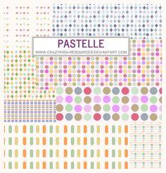 patterns.12 - Pastelle by crazykira-resources.deviantart.com on @DeviantArt