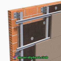 kronleuchter « Decor Diy Best Cladding Design, House Cladding, Cladding Systems, Stone Cladding, Wall Cladding, Facade Design, Facade House, House Design, Isolation Facade