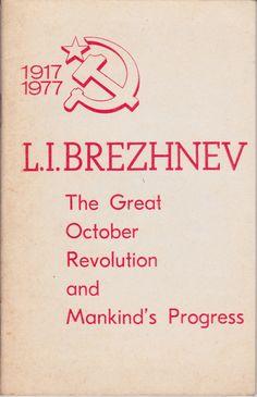 Informe del encuentro del Comité Central de la URSS, 2 de Noviembre 1977, por Brezhnev. Mercado de la Tía Ni, Sabaris, Baiona. Libros de segunda mano, rastro, antigüedades.