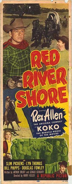 Red River Movie | RED RIVER SHORE POSTER ]