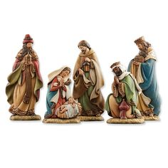 Joseph's Studio 5-piece Flat Profile Nativity Figurines