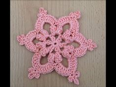 Crocheted flower 51