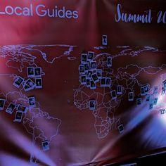 Environ 80 local guide de presque 40 pays différents au premier sommet des Google Local Guides. #LGsummit16 #sanfrancisco #voyage #travel #usa #google