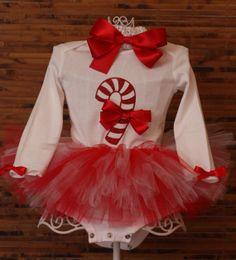 Candy Cane long sleeve Onesie/shirt for girls- infants, toddlers, girls, juniors, ladies