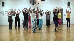 """""""BURLESQUE"""" by Christina Aguilera - Choreography by Lauren Fitz for Dance Fitness, via YouTube."""