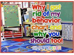 Why I Took My Behavior Chart Off My Wall!