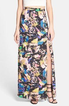 Floral Maxi Skirt from @Nordstrom
