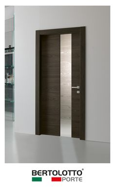 ... range is fitted with high-level components concealed hinges magnetic locks frames and architraves in water-repellent materials. Door finishing ...  sc 1 st  Pinterest & Bertolottou0027s Materik basic door collection offers a very good value ...