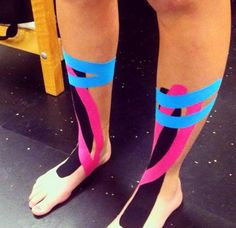 What are shin splints? As common of an injury as they are, shin splints still seem to be one of the most untreated and unheard of injury out there. Shin Splints Taping, Shin Splint Exercises, Roller Derby, K Tape, Kinesiology Taping, Athletic Training, Sports Medicine, Running Workouts, Men Fashion