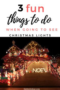 3 fun things to do when going to see Christmas Lights Christmas And New Year, All Things Christmas, Christmas Lights, Christmas Crafts, Christmas Decorations, New Years Party, Party Time, Things To Do, Holidays