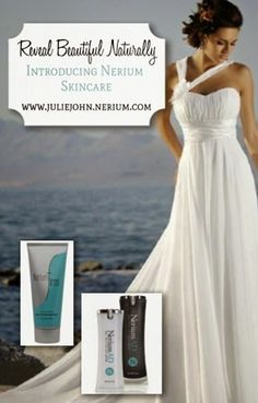 Do you know someone getting married soon?    Nerium is exactly what they need to REVEAL BEAUTIFUL SKIN! Visit here: www.juliejohn.arealbreakthrough.com #Nerium #Revealbeautifulnaturally #naturallyyouthfulwithjulie