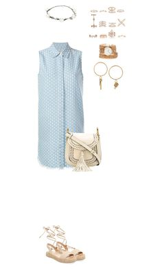 """""""926"""" by julialeskiv ❤ liked on Polyvore featuring Current/Elliott, Alex + Alex, Chloé, ZALORA, Lipsy and New Look"""