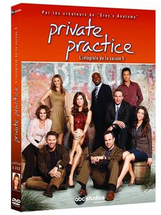 Private Practice - Saison 5 | SERIE TV | DVD - NEUF