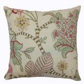 Found it at Wayfair - Elodie Floral Cotton Throw Pillow