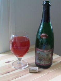 Cerveja Cantillon Lou Pepe Framboise, estilo Lambic - Fruit, produzida por Cantillon, Bélgica. 5% ABV de álcool.
