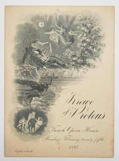 Mardi Gras Ball Invitation, Proteus, 1895