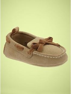 Baby Gap Suede Moccasins- Just added these to Nicko's shoe collection