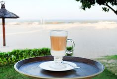 Enjoying a fresh cup of coffee while looking out into the Indian Ocean? Not a bad way to start the day. Add the hashtag #TheTanjungBenoa and get featured on our page!  www.benoaresort.com #thetanjungbenoa #thetanjungbenoabeachresortbali #TheTAOBali #bali