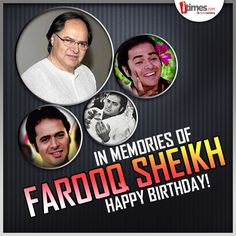 He was an actor par excellence & has always left an impact with each of his performances. Here's remembering #FarooqSheikh on his birth anniversary! A look at his private life -