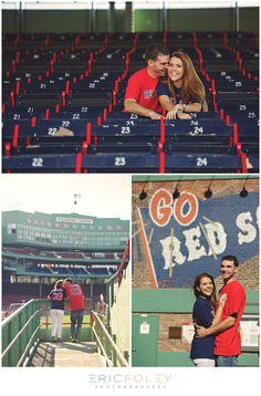 Fenway Engagement Photos