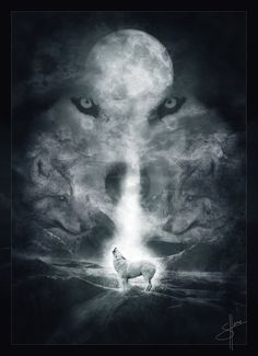 Image detail for -days to the wolves by calmari digital art photomanipulation fantasy ...