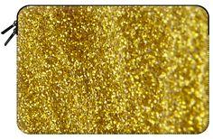 Casetify Macbook Pro 15 MacBook Tasche - golden glitters by VanessaGF Golden Glitter, Macbook Pro 15, Tech Accessories, Glitters, Casetify, Sleeves, Cap Sleeves
