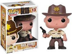 Figurine POP Walking Dead Rick Grimes - Geek Store