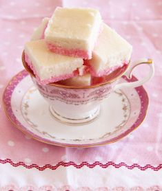 Easy coconut ice recipe for kids – sugar on toast Fudge Recipes, Dessert Recipes, Dessert Ideas, Desserts, Coconut Ice Recipe, Leek Tart, Nutella, Kids Meals, Breakfast Recipes