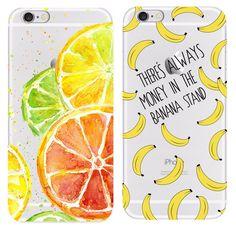 Banana powłoki dla iphone 4 4s 5 5s 6 6 s 7 przypadkach pokrowce tpu dla apple iphone 4 4s 5 5s 6 6 s 7 torby telefon pokrywa cienka skóra