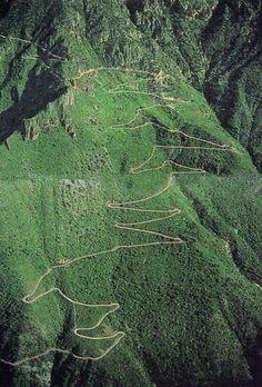 Los paisajes montañosos de México son verdaderamente magníficos. #Chihuahua, #Mexico #SierraMadre.