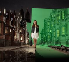 ralph lauren 4D holographic spring '15 collection show in central park - designboom | architecture