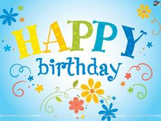Happy Birthday! It's a day to celebrate You!      Copy & Paste...  (I like to Pin, Facebook, Send via email or cellphone to family/friends on their special day!)