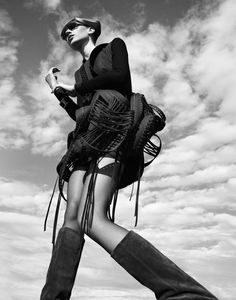 """endless legs! // Karin Hansson by Benjamin Vnuk in """"Atmosphere"""" for Fashion Gone Rogue"""