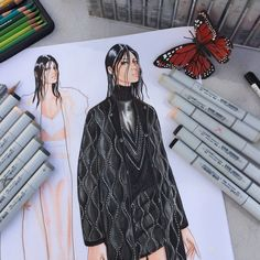 Alexander Wang Fall 2015 RTW | Illustration by Paul Keng