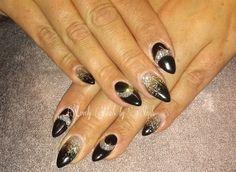 Day 100: Black & Silver Nail Art - - NAILS Magazine
