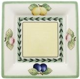 French Garden Macon Bread and Butter Plate Square 6 in. - The French Garden Macon Bread and Butter Plate Square 6 in. is part of Villeroy and Boch's French Garden pattern. Better Alone, Lattice Design, French Countryside, Country French, Low Country, Villeroy, Small Plates, Baby Shop, Dinnerware