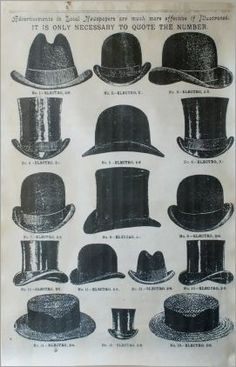 906711850a79a Top Hat Vintage Paper More 1920s Mens Hats