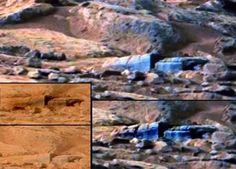 INCRÍVEL - Mais provas de vida no Planeta Marte - ( UNIDADE DE ARMAZENAMENTO ? ) -