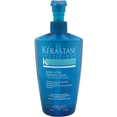 Kerastase Specifique Bain Vital Dermo-Calm Shampoo by Kerastase for Unisex, 16.9 oz