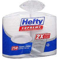 Hefty® Supreme™ Plates - 250 ct. - Sam's Club Disposable Plates, Food Service Equipment, Breakfast Lunch Dinner, Household Items, Dinner Plates, Supreme, Catering, Restaurant