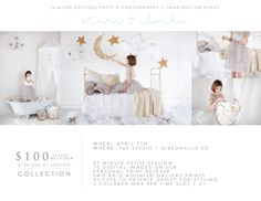 Stars & Clouds is BACK | Imagination Petite Sessions | Greensboro NC Child Photographer