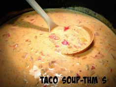 Family Farmhouse: THM Taco Soup Source by janetmaston Thm Soup Recipes, Trim Healthy Recipes, Low Carb Recipes, Crockpot Recipes, Cooking Recipes, Cream Recipes, Diabetic Recipes, Yummy Recipes, Vegan Recipes