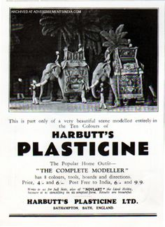 Advertisement for India market