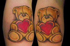 teddy+bear+tattoos | Forever friends teddy bear Tattoo - a photo on Flickriver