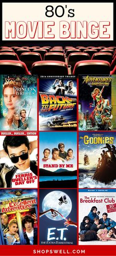 What started out as a list of fun films from the 80s turned into a long list of must-see movies and TV series worth owning on DVD.