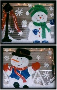 How to paint your windows for Christmas. You can use window or tempera paints. Pick out a picture in a child's coloring book for inspiration.