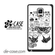 Harry Styles Black Tattoos Collage DEAL-5166 Samsung Phonecase Cover For Samsung Galaxy Note Edge