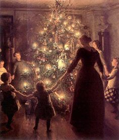 Just an Old Fashioned Gal!: MAGICAL Christmas Images
