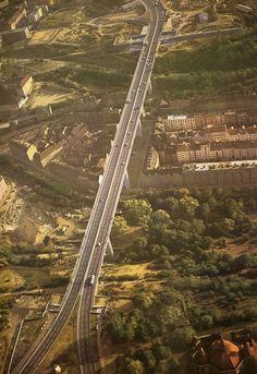 Nuselsky most Nusle bridge the longest bridge in Prague