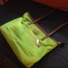 Michael Kors green purse Gently used Michael Kors lime green purse MICHAEL Michael Kors Bags Shoulder Bags